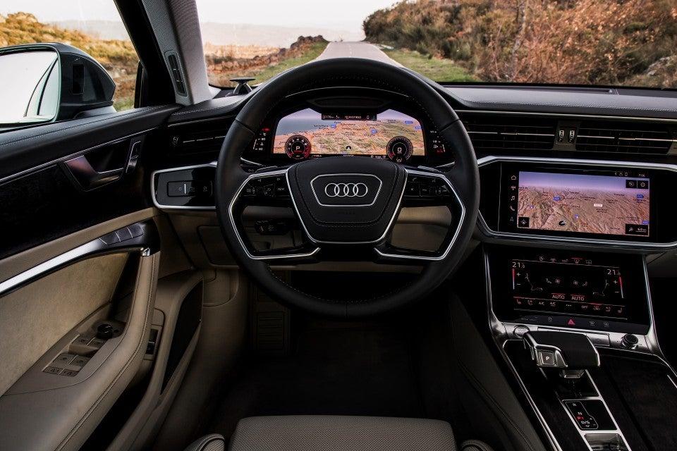 Audi A6 55 TFSI quattro S tronic-interior
