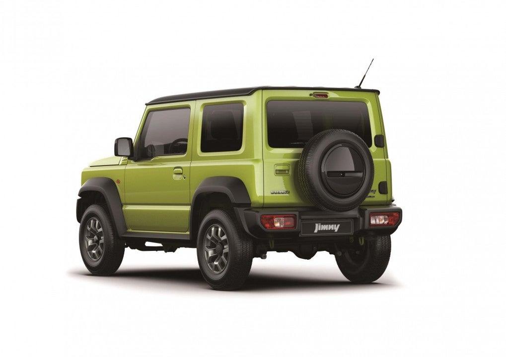 Nuevo Suzuki Jimmy-trasera