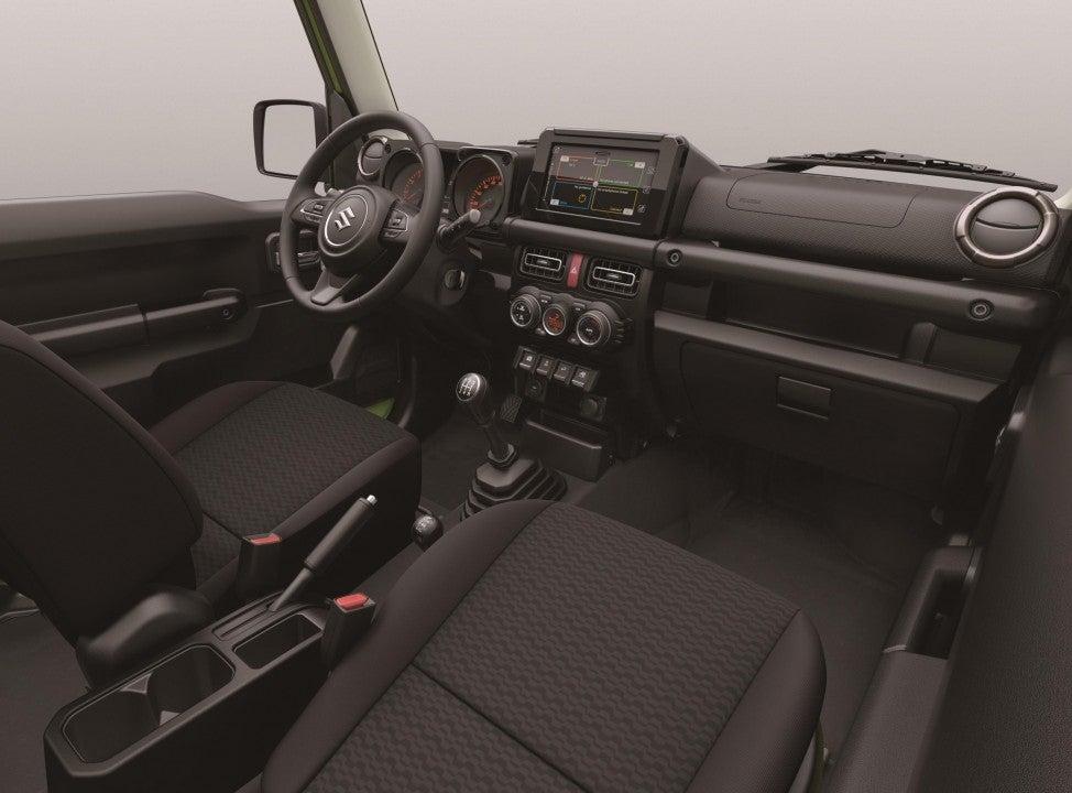 Nuevo Suzuki Jimmy-interior