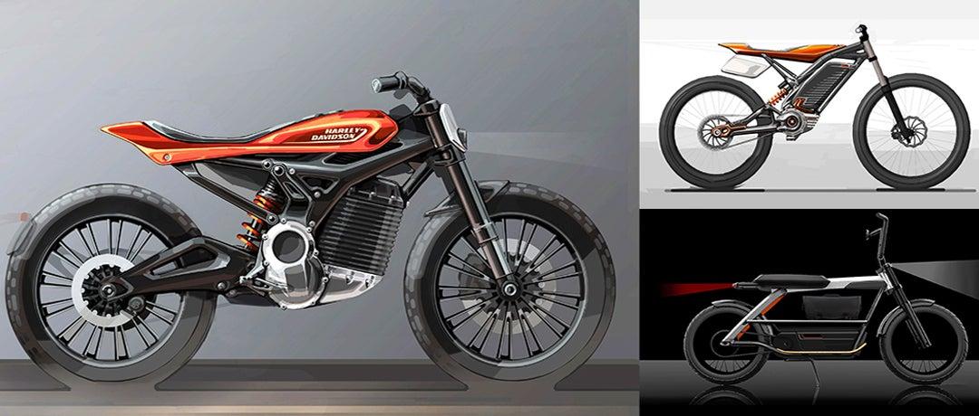 Futuro modelo eléctrico Harley-Davidson