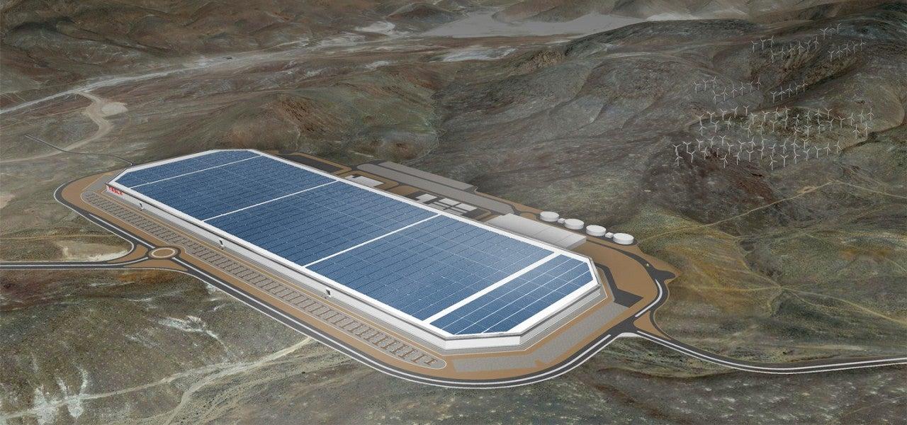 Gigagfactory de Tesla