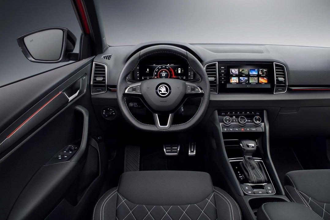 Škoda Karoq Sportline-interior