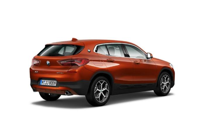 BMW X2 acabado Impulse-trasera