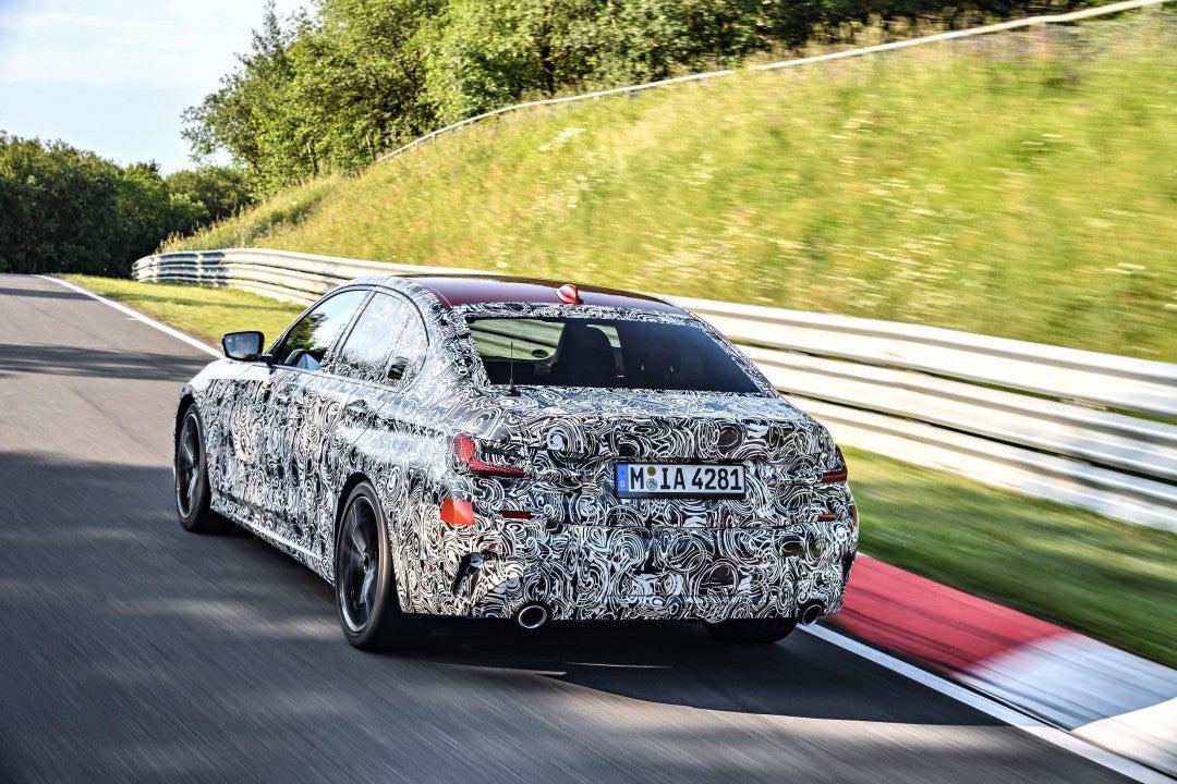 Nuevo BMW Serie 3 Sedan-trasera