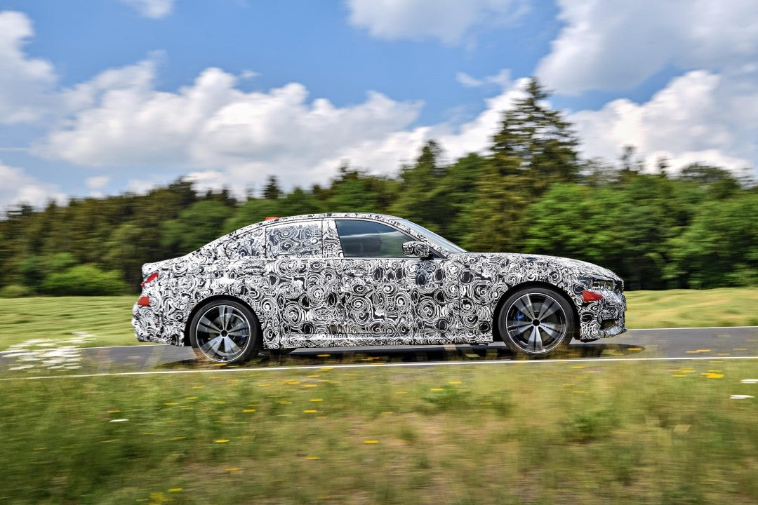 Nuevo BMW Serie 3 Sedan-lateral