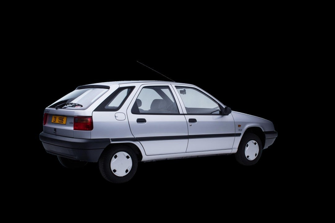 Citroën ZX-trasera