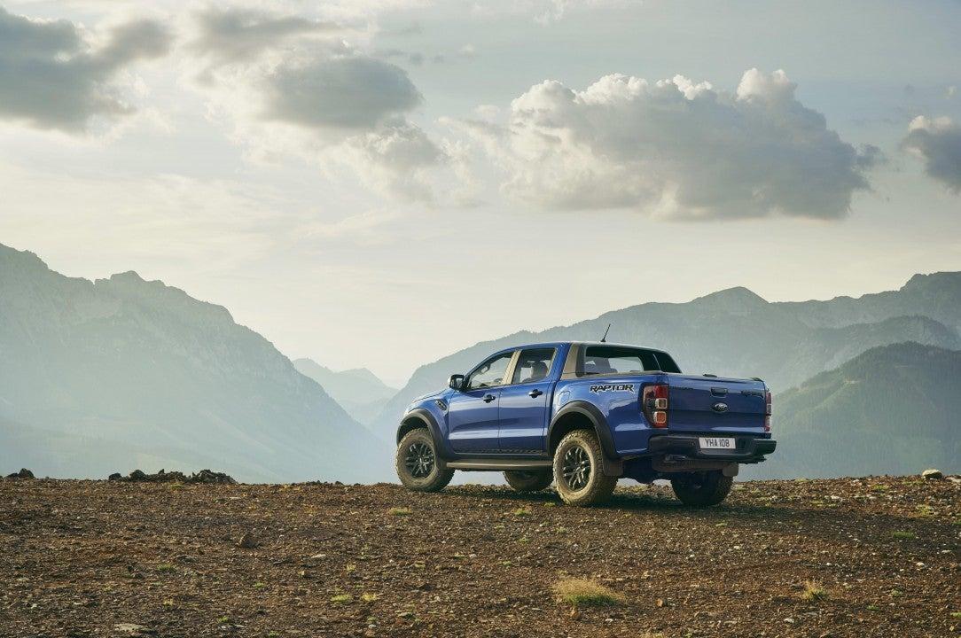 Nuevo Ford Ranger Raptor-trasera