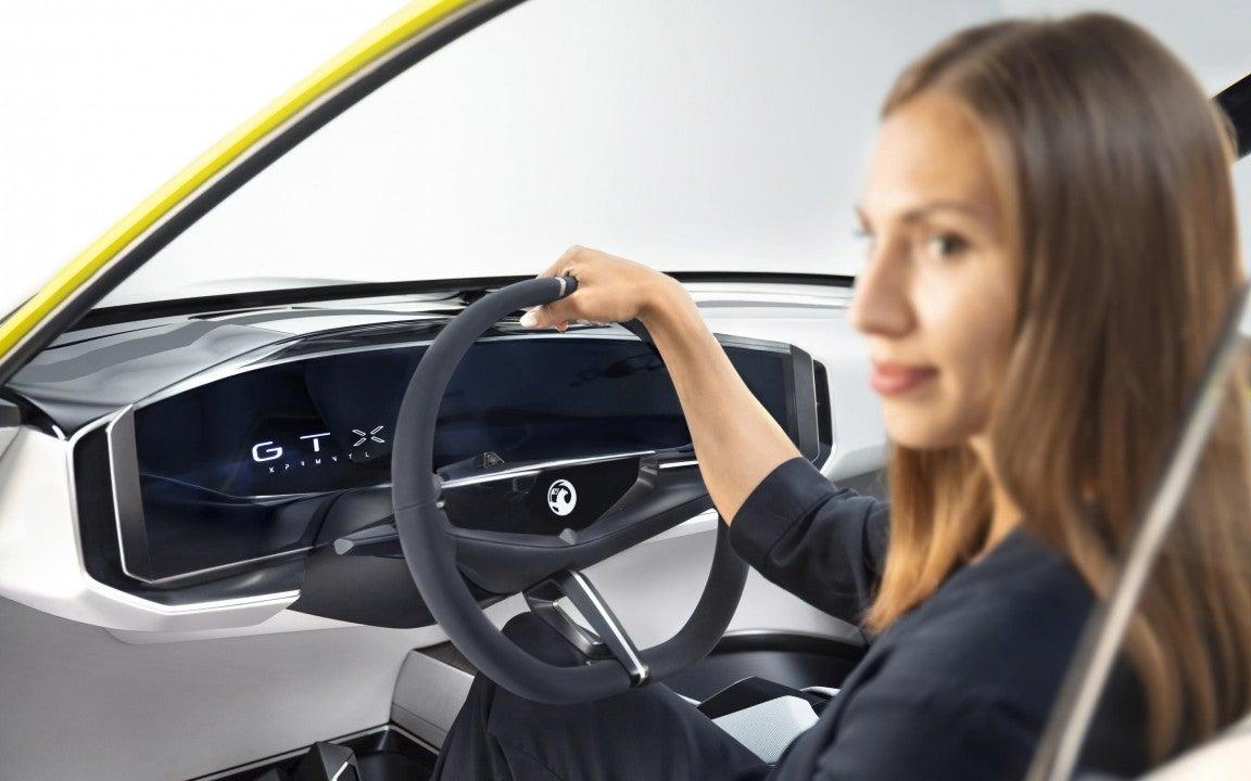 Vauxhall GT X Experimental-interior