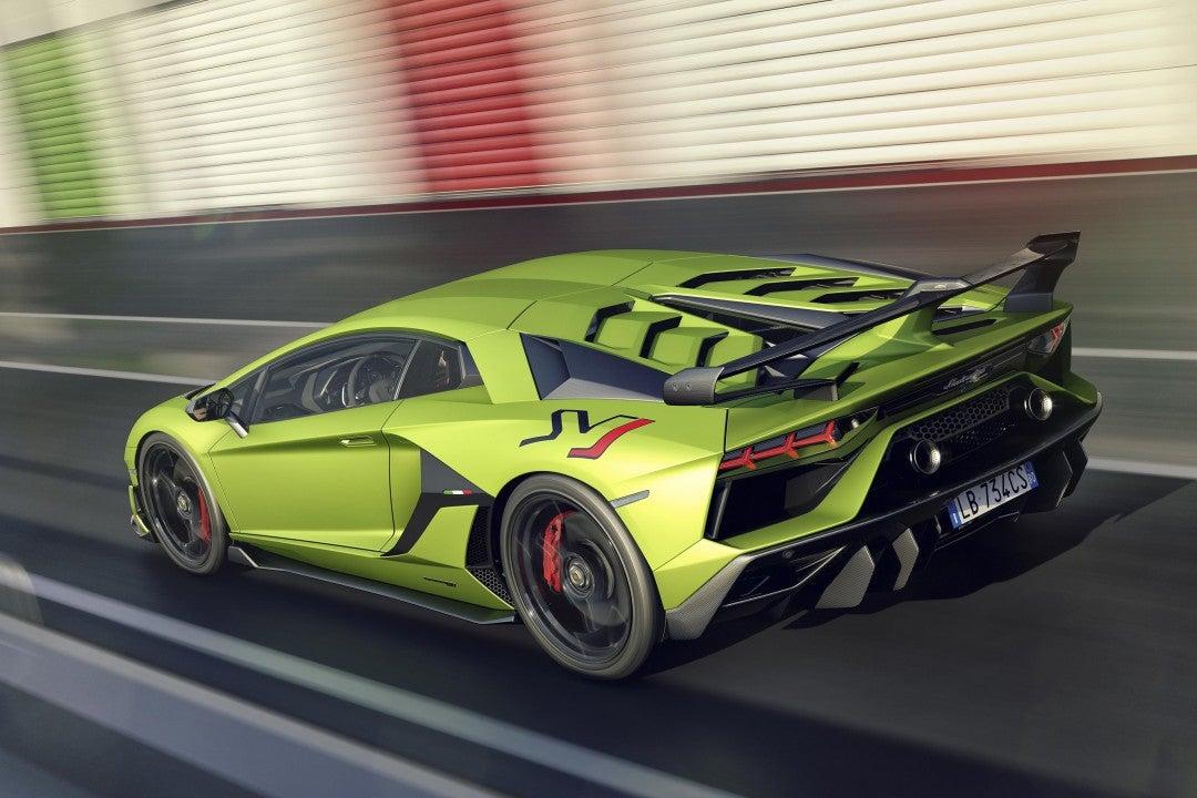Nuevo Lamborghini Aventador SVJ-trasera