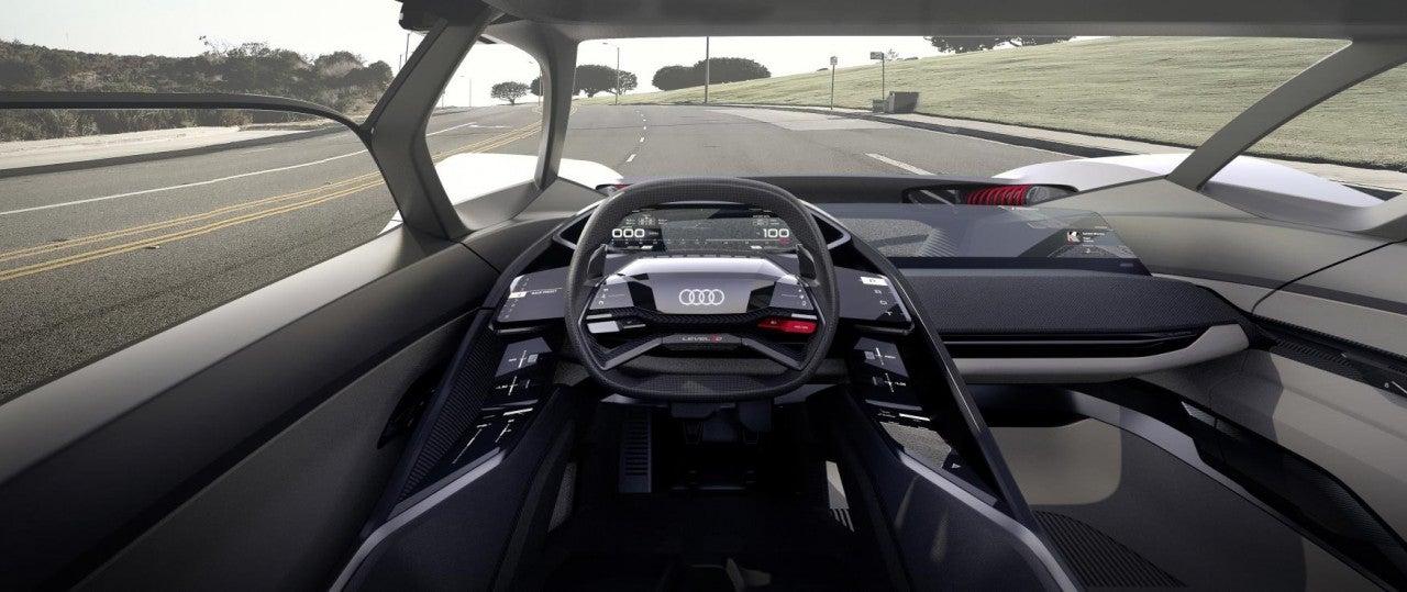 Audi PB18 e-tron concept car-interior