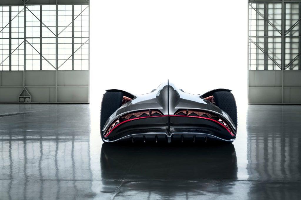 Mercedes-Benz EQ Silver Arrow-trasera