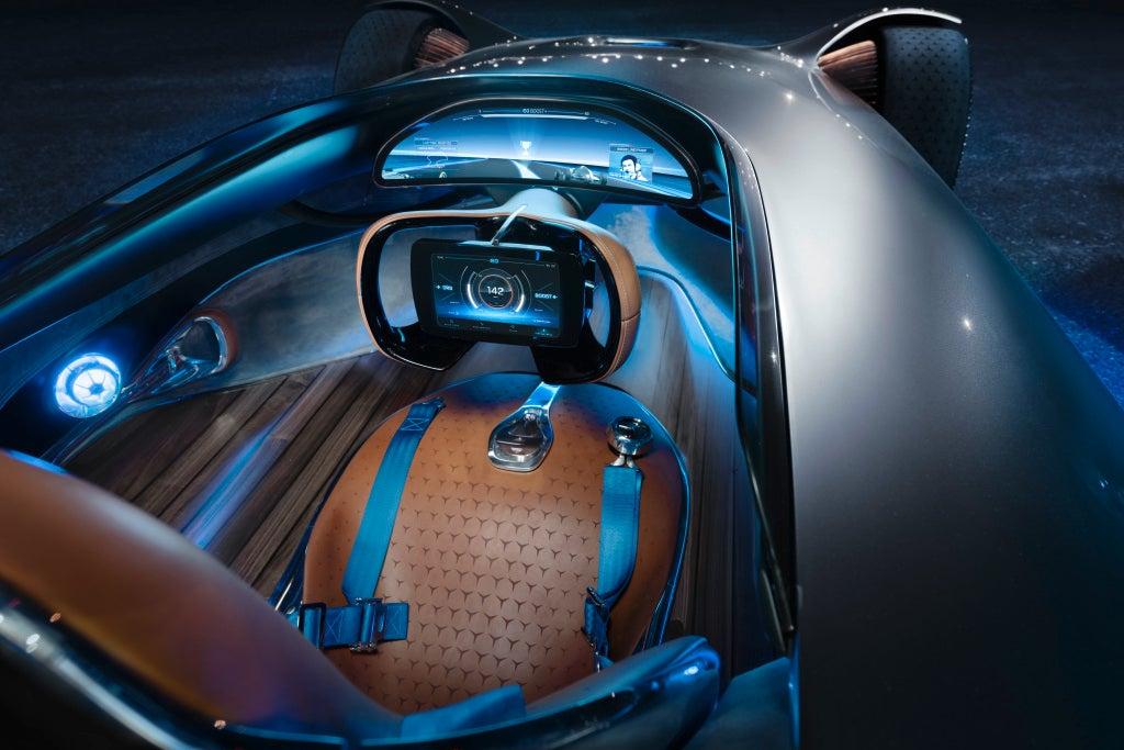 Mercedes-Benz EQ Silver Arrow-interior