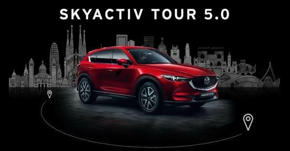 El Mazda Skyactiv Tour llega a Alicante