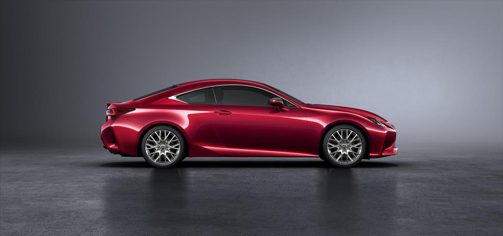 Nuevo Lexus RC 300h-lateral