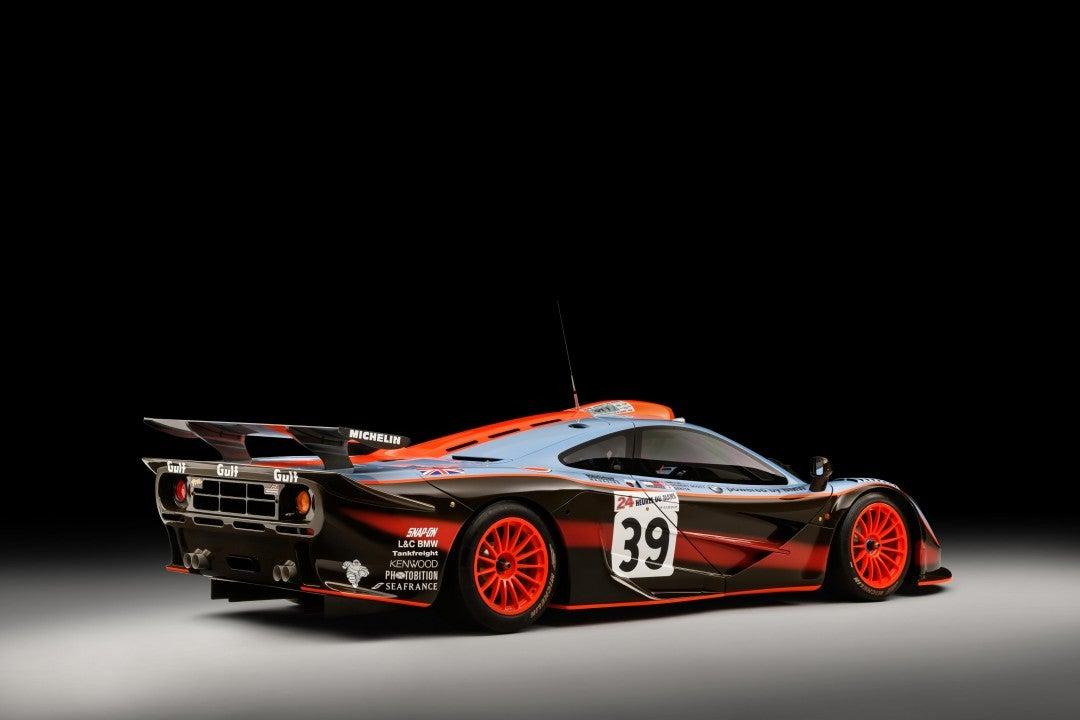 McLaren F1 GTR '25R'-trasera