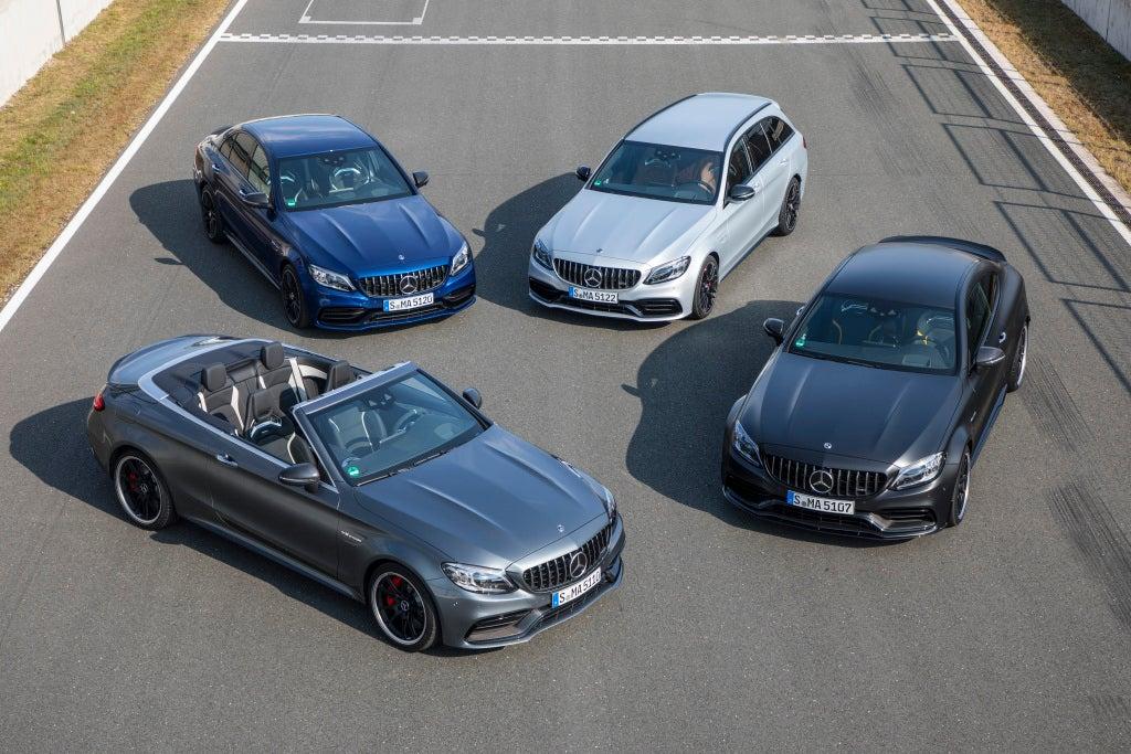 Los nuevos modelos Mercedes-AMG C 63 y C 63 S