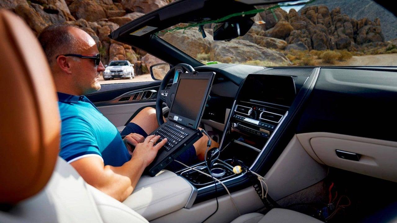 Nuevo BMW Serie 8 cabrio 2019-interior