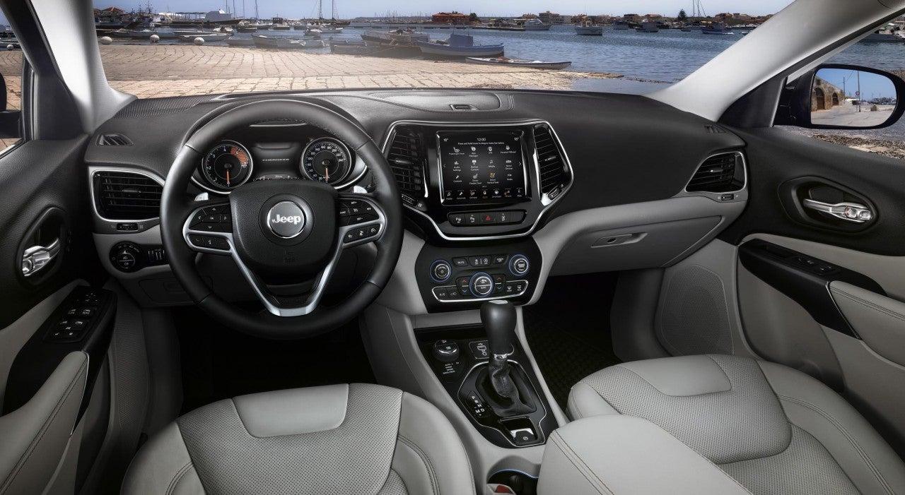 Nuevo Jeep® Cherokee-interior