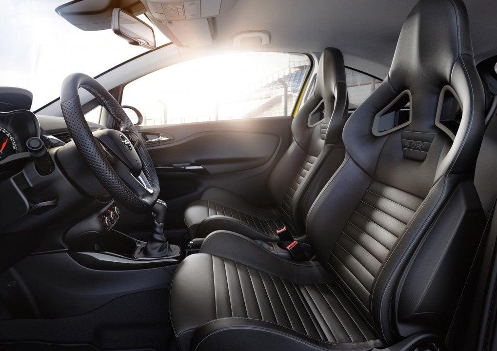 Nuevo Opel Corsa GSi-interior