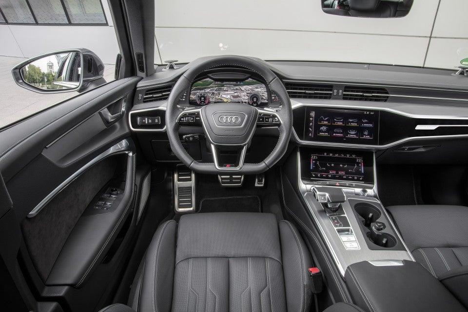 Nuevo Audi A6 Avant-interior