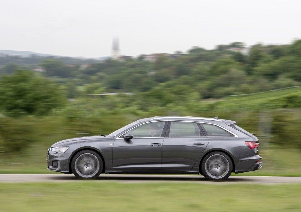 Nuevo Audi A6 Avant-lateral
