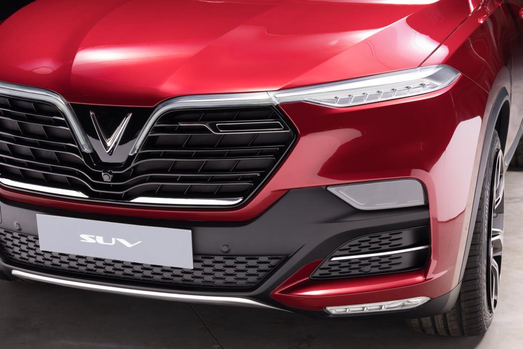 VinFast SUV-frontal