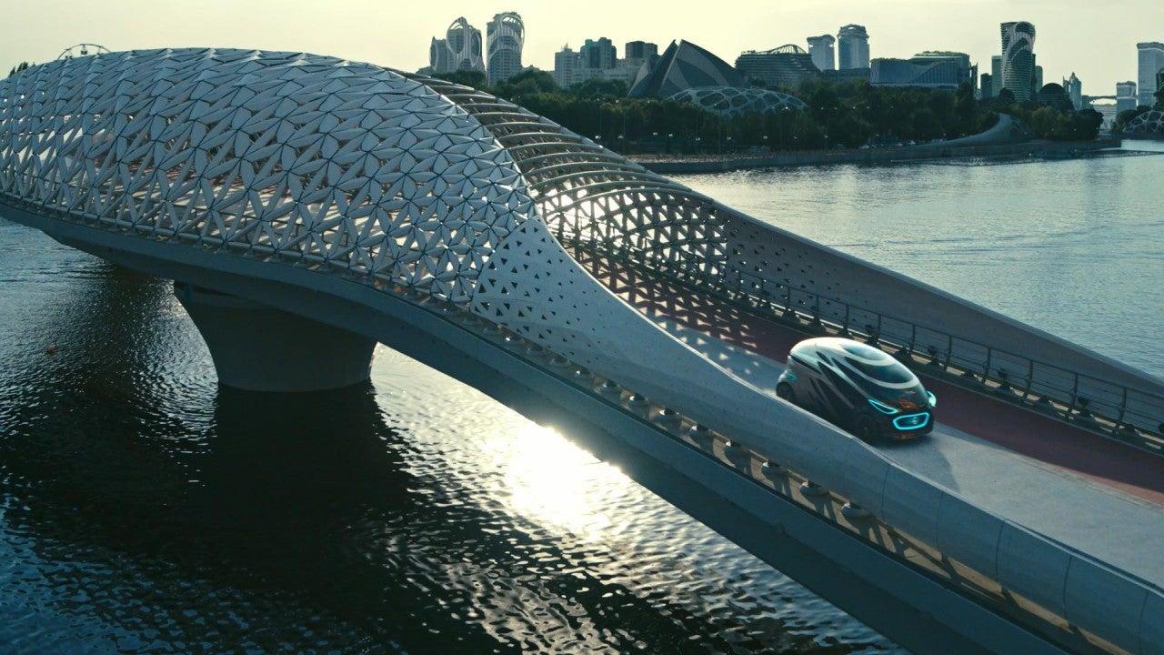 Vision URBANETIC de Mercedes-Benz Vans