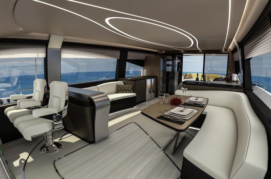 Lexus LY 650-interior