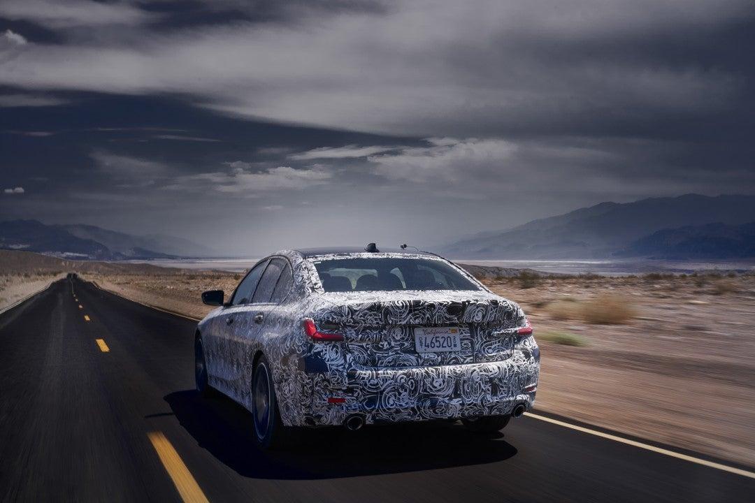 Nuevo BMW Serie 3 Sedan enEstados Unidos
