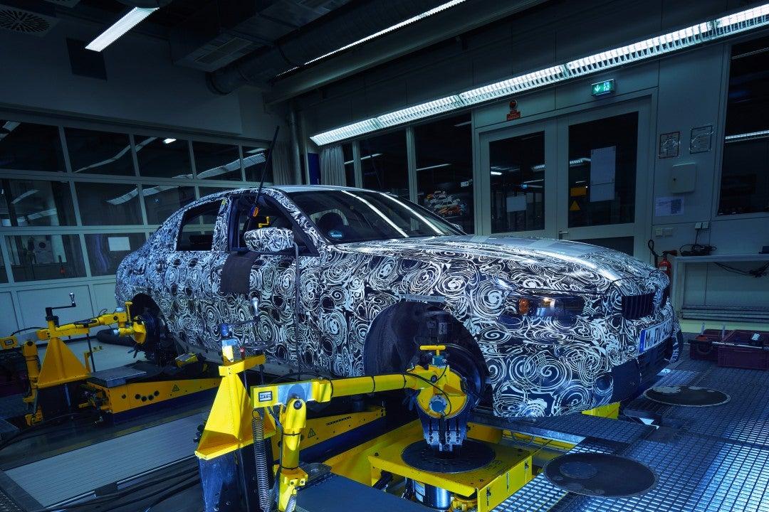 Nuevo BMW Serie 3 Sedán Cinemática