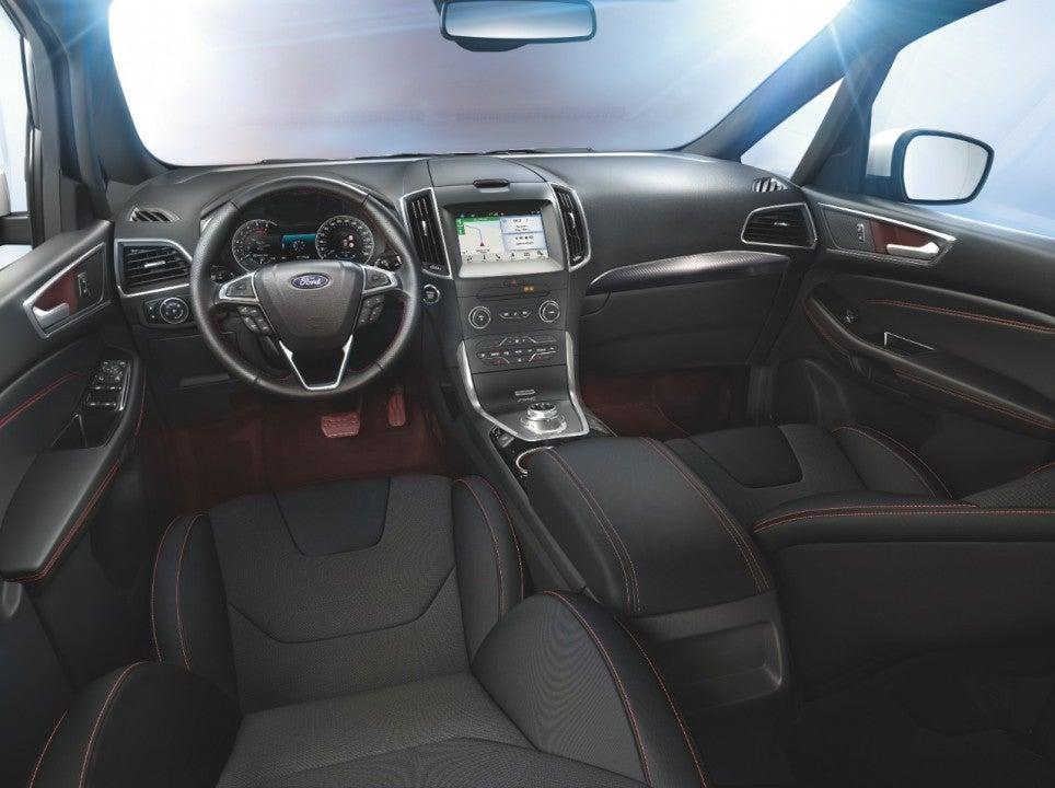 Ford S-Max y Galaxy-interior