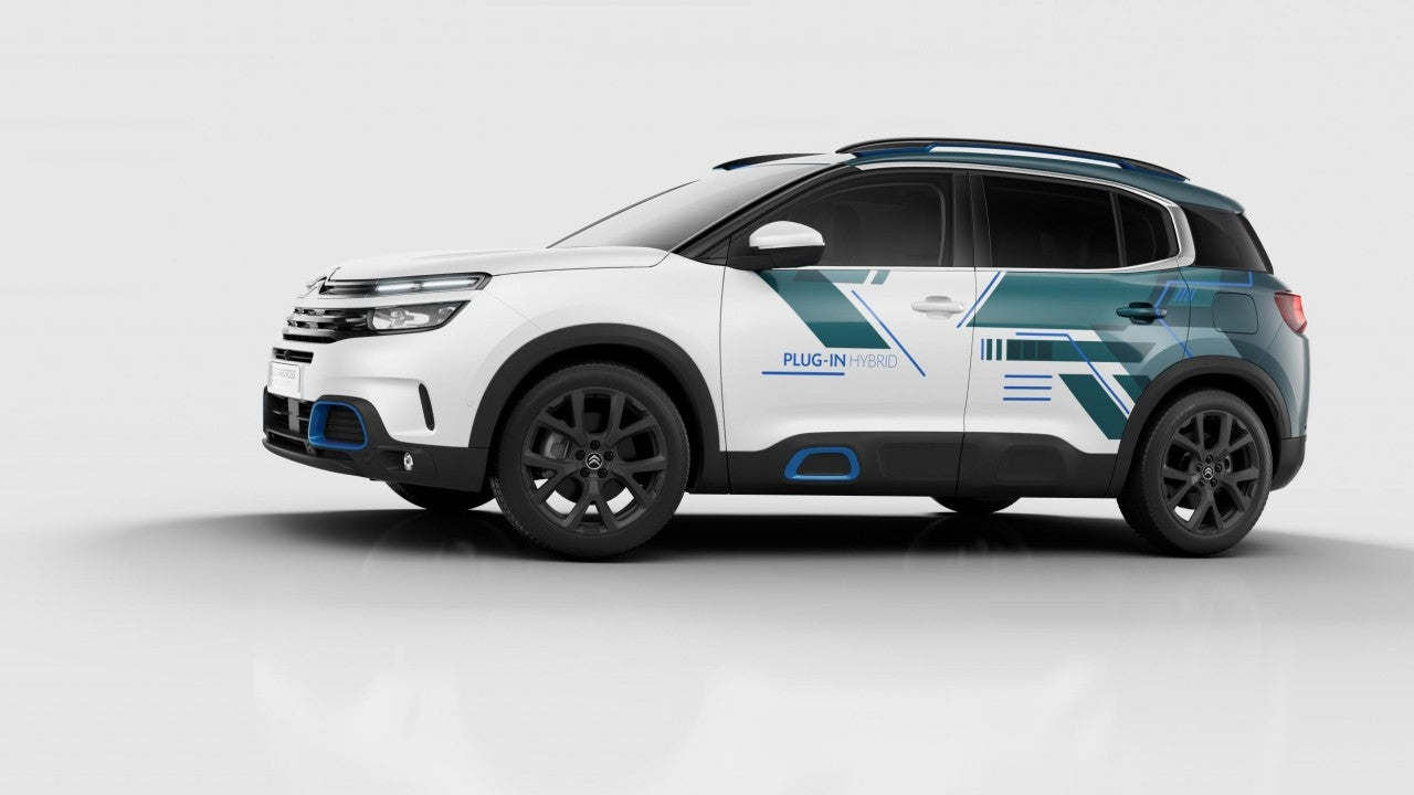 Nuevo SUV C5 Aircross Hybrid Concept-lateral