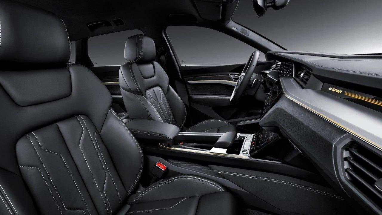 Nuevo Audi e-tron-interior
