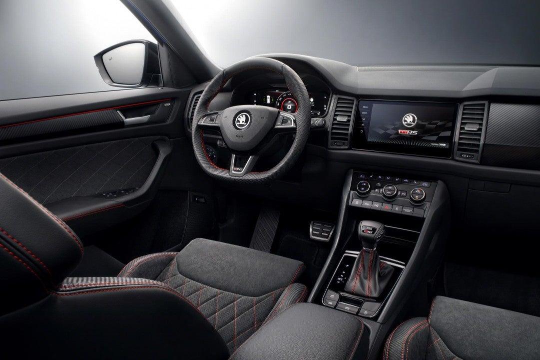 Nuevo Škoda Kodiaq RS-interior