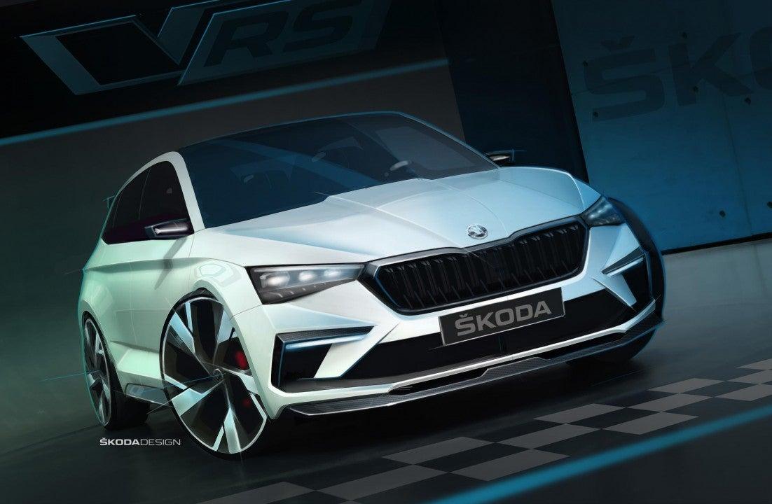Škoda Vision R-frontal