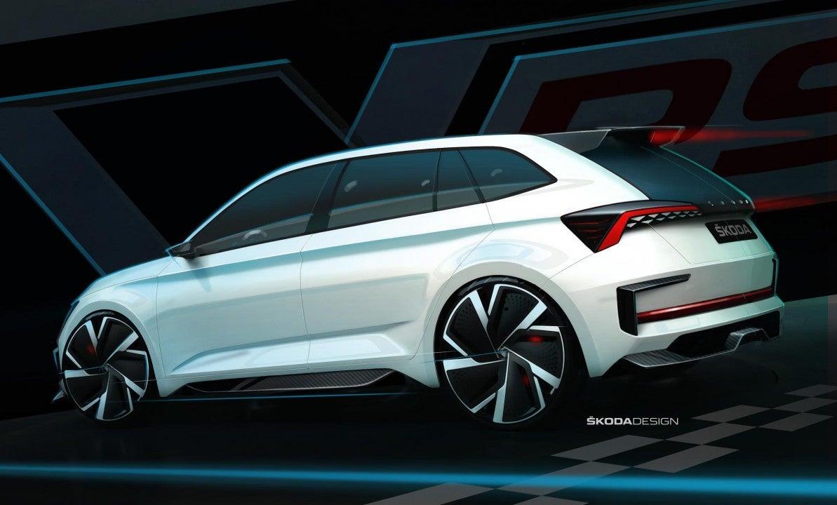 Škoda Vision R-trasera