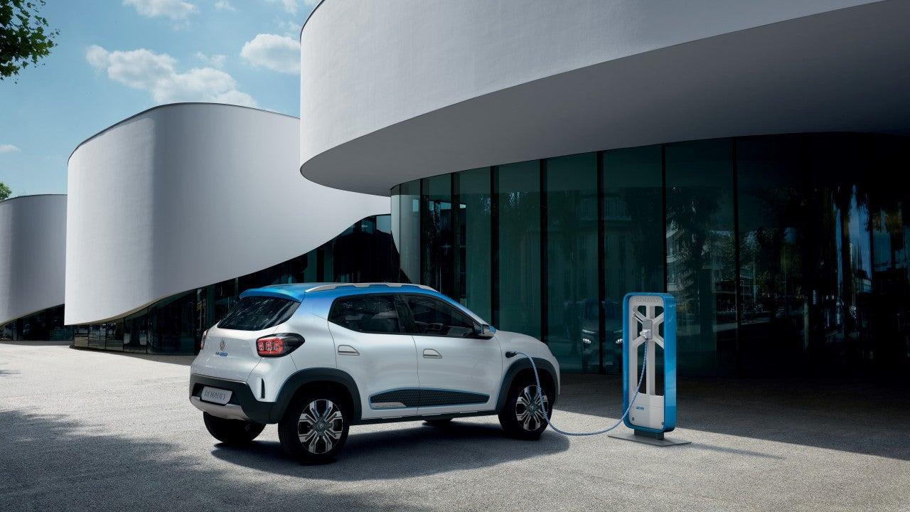 Renault K-ZE-trasera
