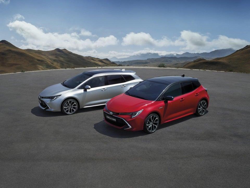 Toyota Corolla hybrid — Toyota Corolla hybrid Touring Sports