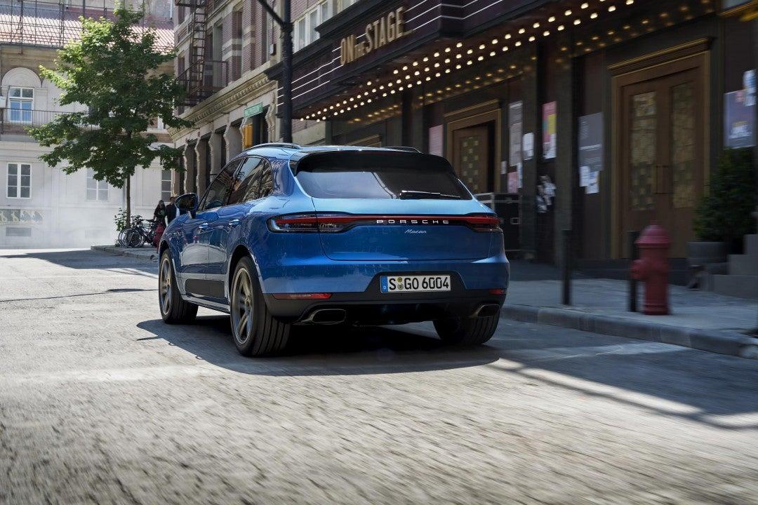 Nuevo Porsche Macan-trasera