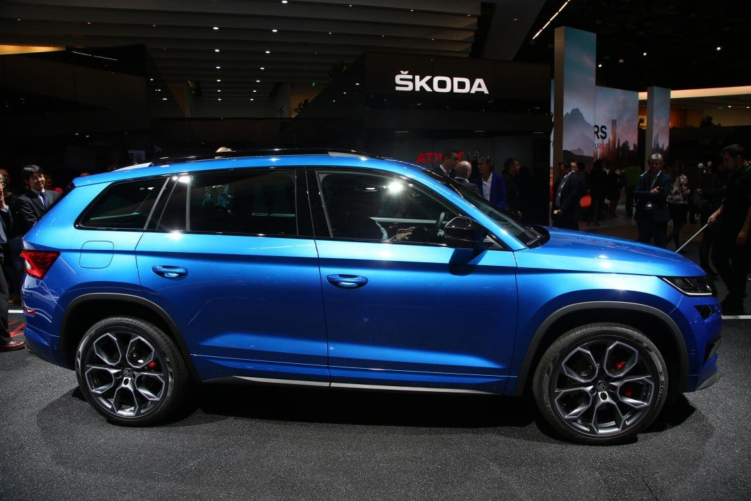 Škoda Kodiaq RS-lateral