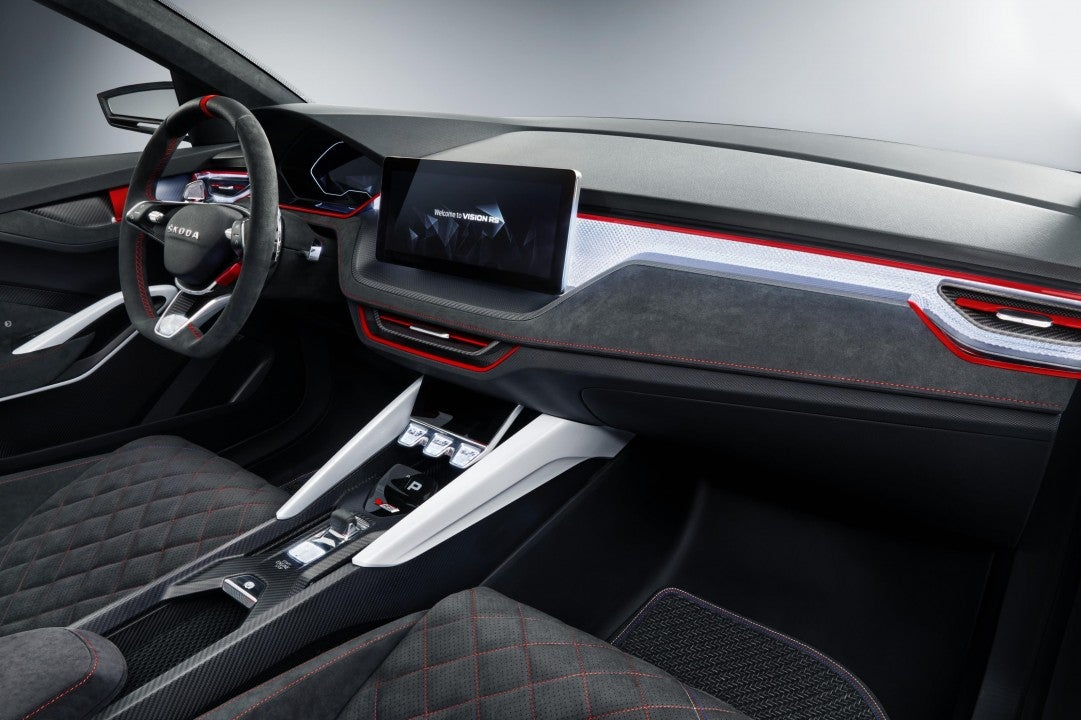 Škoda Vision RS-interior