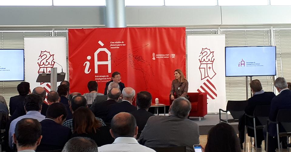 Puig dice que el Consell invertirá 50 millones en inteligencia artificial en 10 años