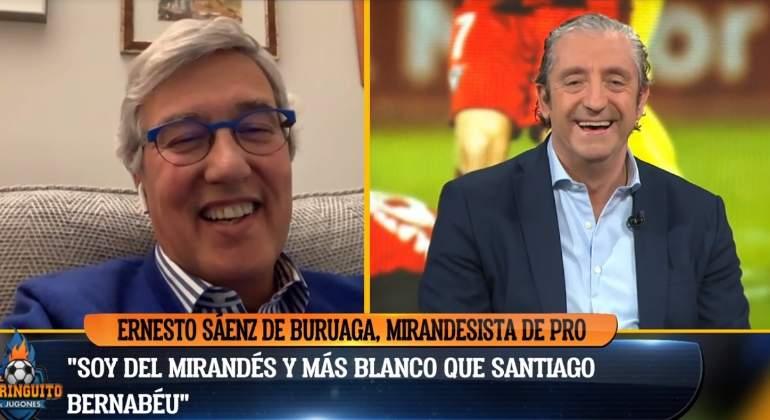 Ernesto Sáenz de Buruaga durante su intervención en