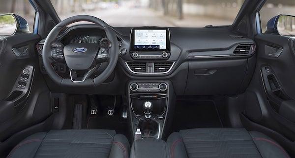 Ford Puma interior