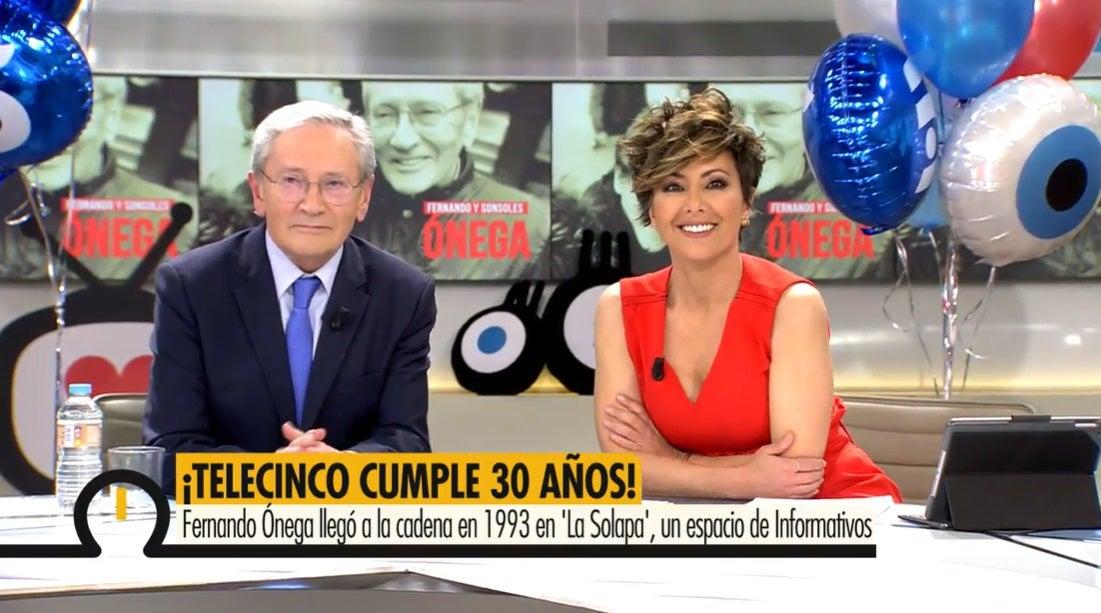 Fernando Ónega y Sonsoles Ónega en