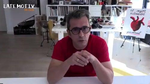Andreu Buenafuente presentando