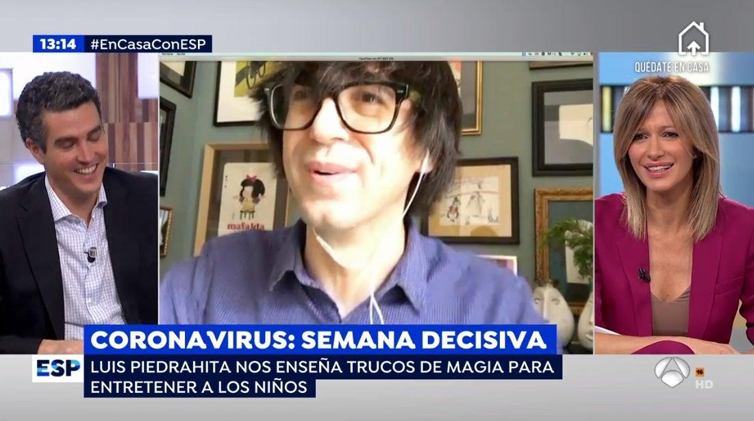 Luis Piedrahita y Susanna Griso en