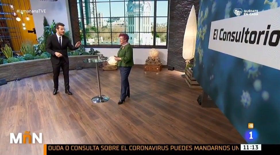 Diego Losada presentando