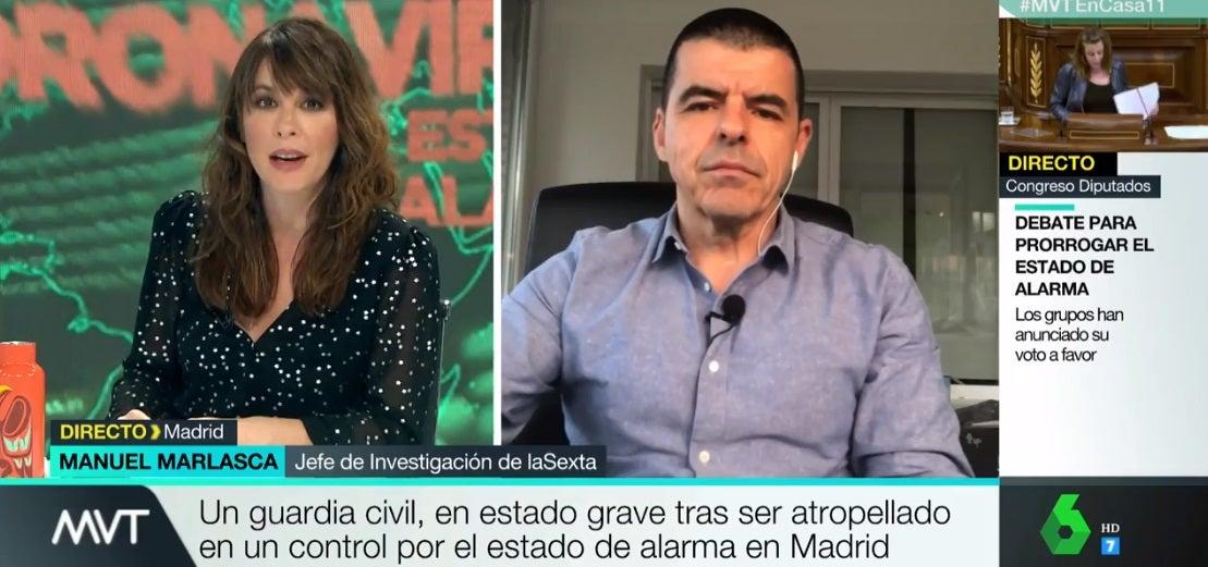 Mamen Mendizábal y Manuel Marlasca en