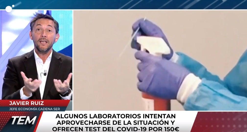 El periodista Javier Ruiz en